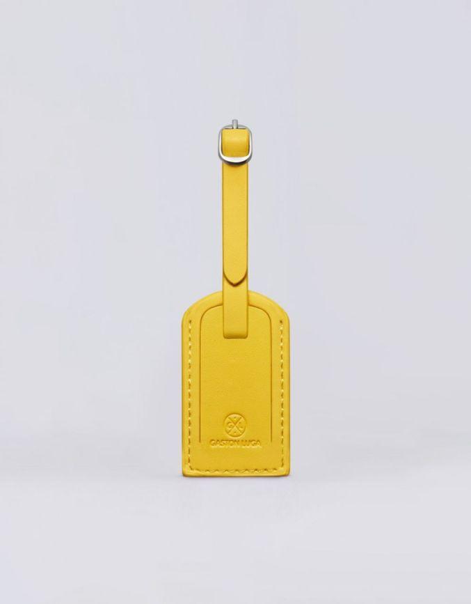 行李吊牌 - 柠檬黄