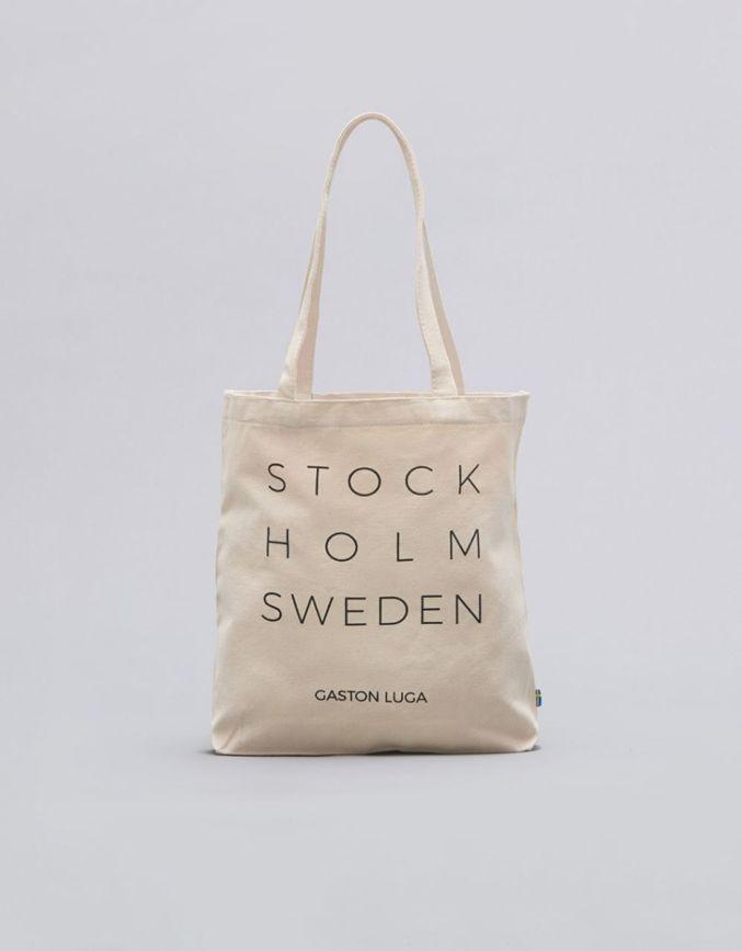 斯德哥尔摩系列环保袋 奶油白