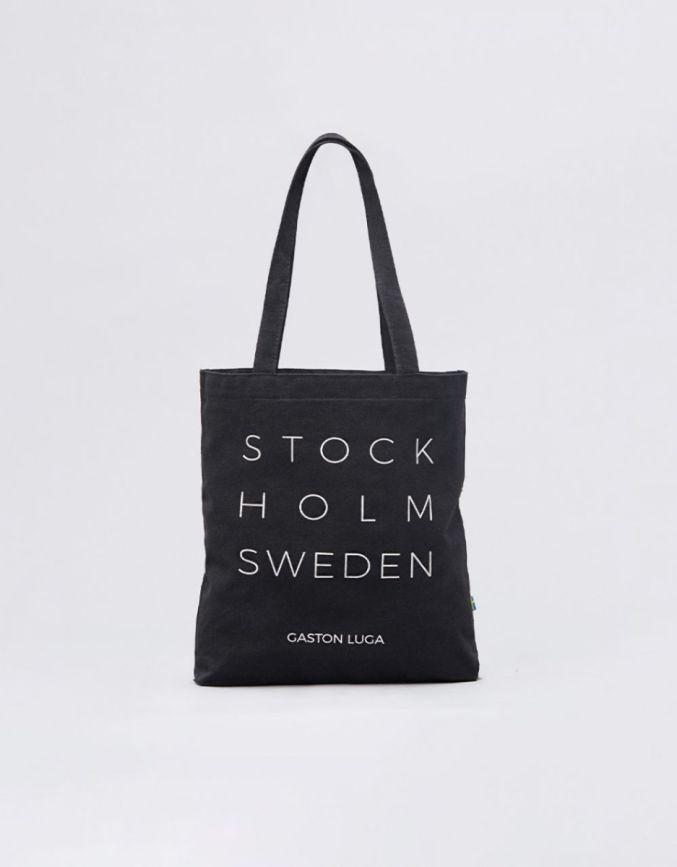 斯德哥尔摩系列环保袋 典雅黑